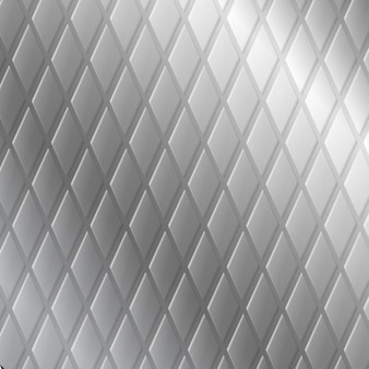 金属板の質感、鉄または銀のシート。シームレスなパターンの背景。リアルな金属グリッド、織り目加工のスチール表面。シームレスパターン