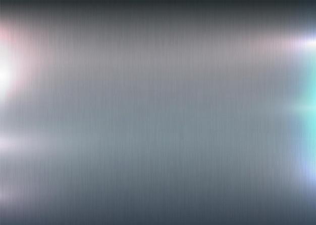 軽いまぶしさのある金属研磨されたテクスチャーアルミニウムテクスチャー表面抽象的な起毛プリント