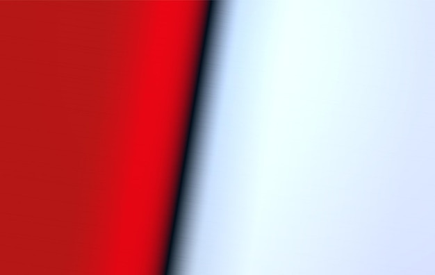 Metal spread texture abstract background polished red and white clear steel surface