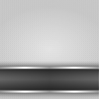 Metal surface, iron texture backdrop, vector design