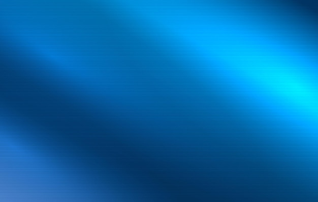 金属の質感の抽象的な背景磨かれた金属の表面透明な青い鋼の壁