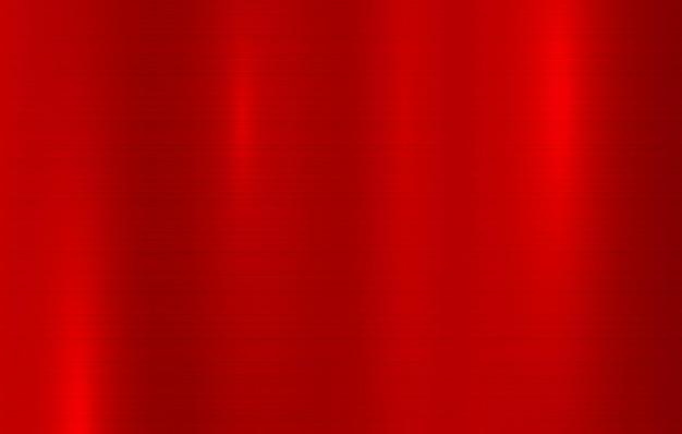 金属の質感の抽象的な背景磨かれた金属の表面透明な赤い鋼の壁