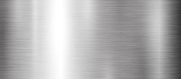 金属テクスチャバナー Premiumベクター