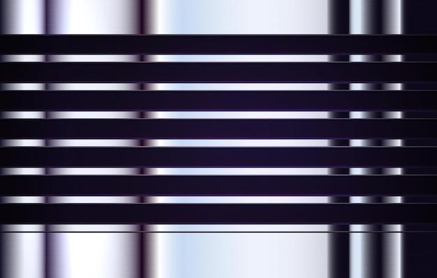金属テクスチャ業界の背景磨かれたアルミニウムバナーステンレス鋼の丸い表面