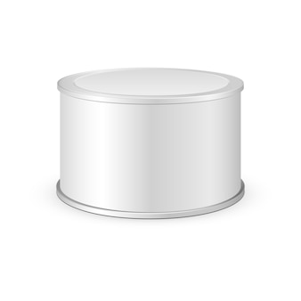 Metal tin can, canned food
