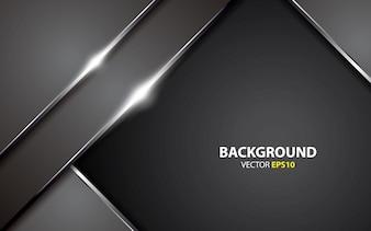 Metallic abstract background vector