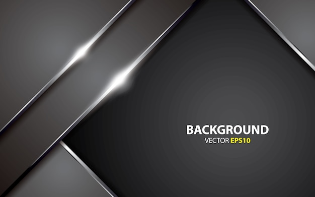 Metallic abstract background vector