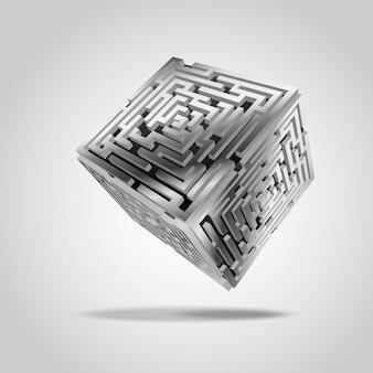 Металлическая кубическая
