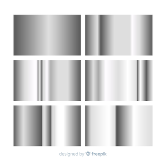 Metallic gradient collection