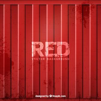Metallic red door background