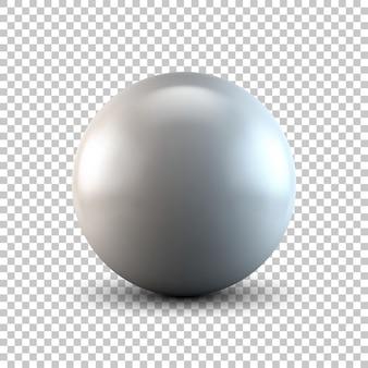 Metallic sphere
