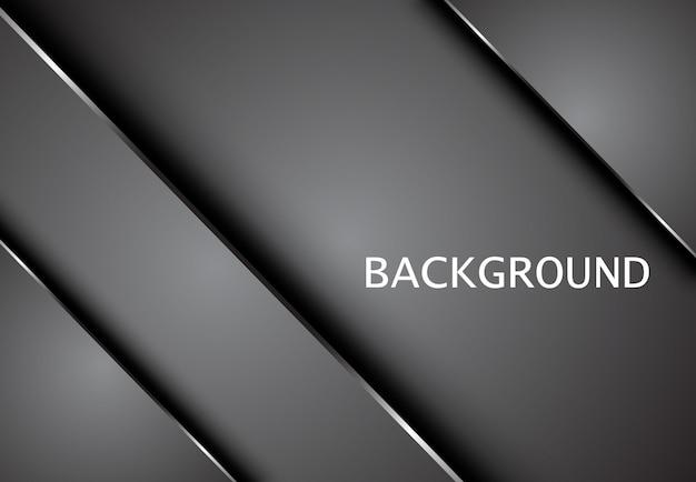 Metallic tech innovation corporate concept background