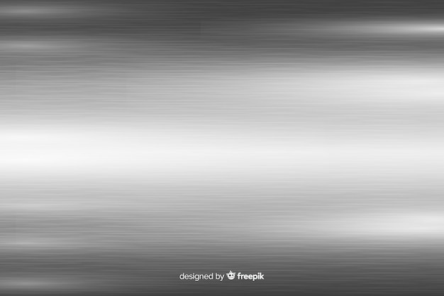 Metallic texture background with grey horizontal lines