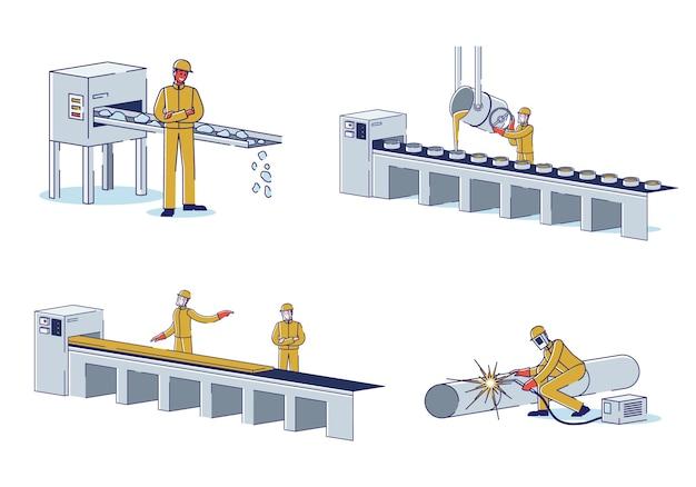 冶金産業の概念
