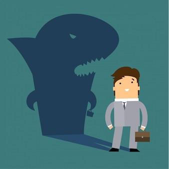 Metaphorical shark.