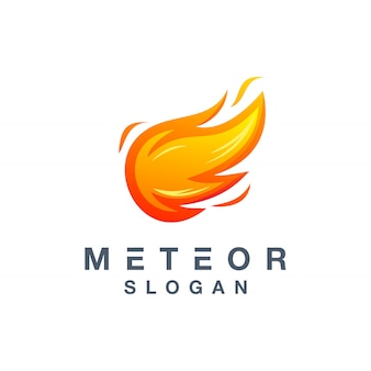 Meteor logo design ready to use for your company