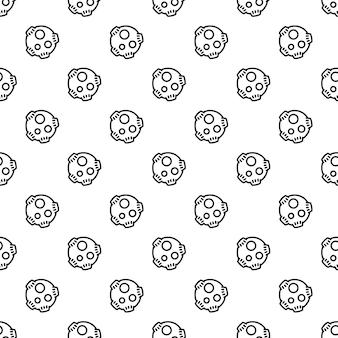 Meteorite pattern seamless