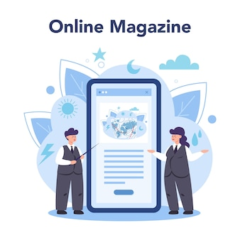 Онлайн-сервис или платформа метеоролога