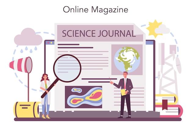 Meteorologist online service or platform