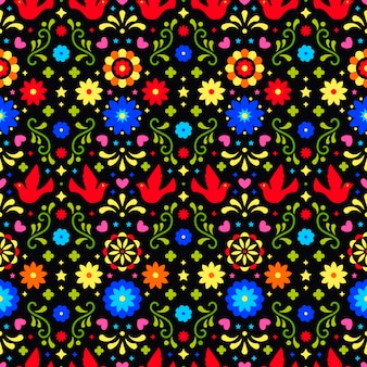 Mexican background. seamless pattern for fiesta party.