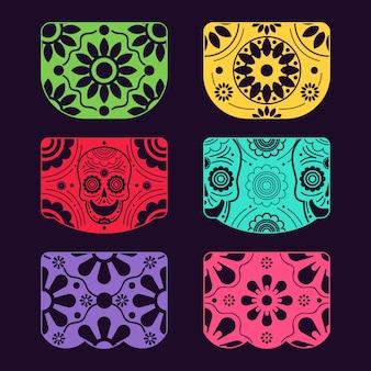 Design della collezione di stamina messicana