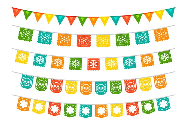 Mexican bunting collection