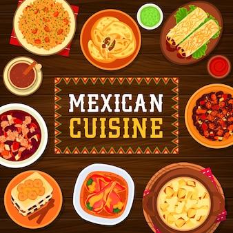 오리와 멕시코 요리 타코 드 파토