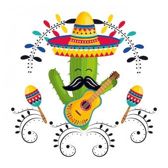 Mexican culture cartoon