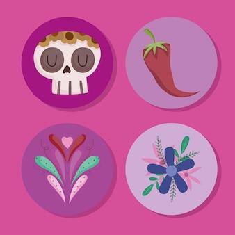 Набор мексиканской культуры