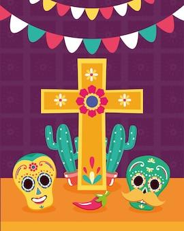 ビバメキシコのメキシコの要素