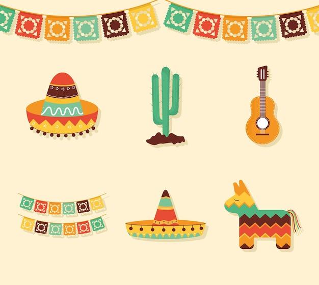 Mexican festive set