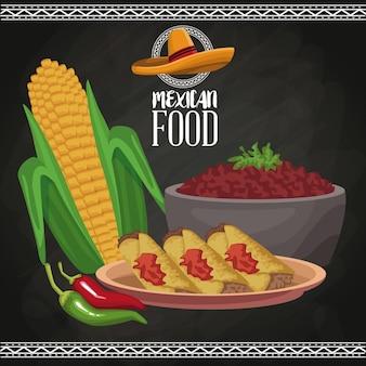 멕시코 음식 안내 책자