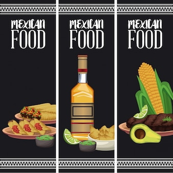 メキシコ料理のパンフレット