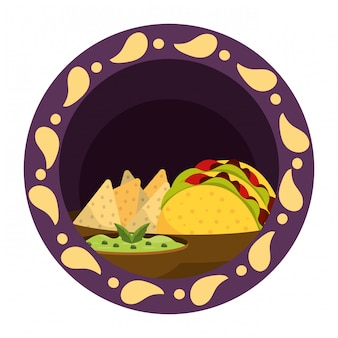 Mexican food gastronomy