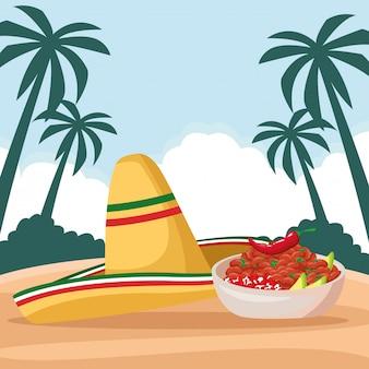 Mexican food and tradicional culture