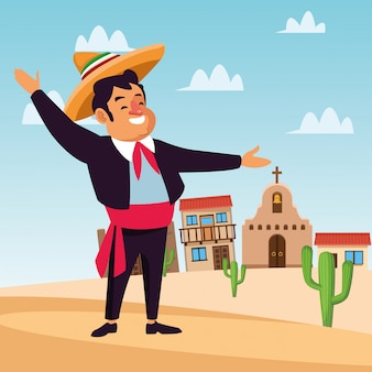 Mexican mariachi cartoons
