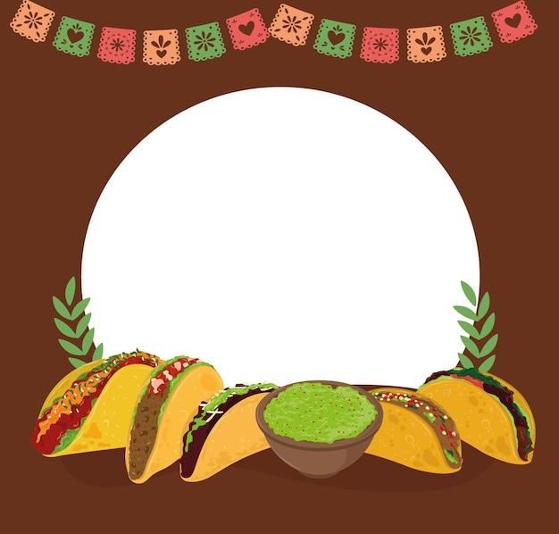 Тако в мексиканском меню
