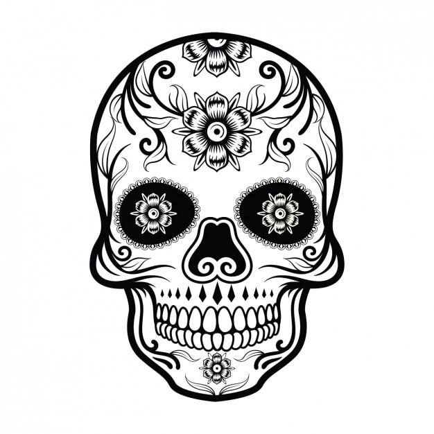skull vectors photos and psd files free download rh freepik com sugar skull vector art skull vector free download