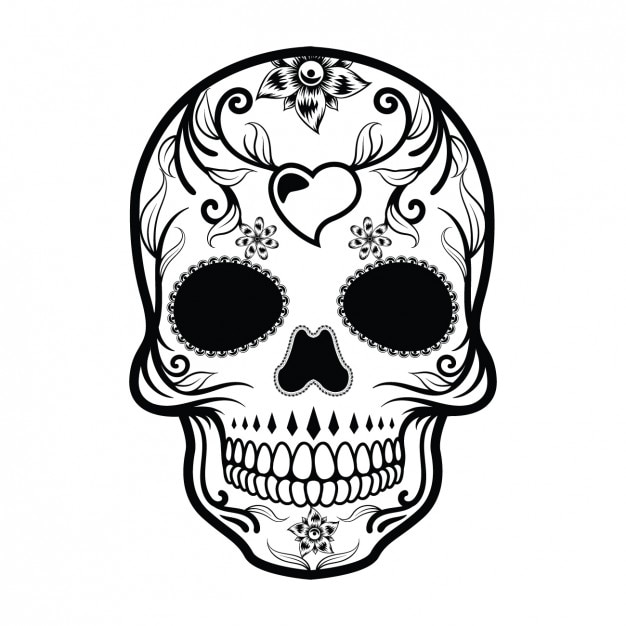 sugar skull vectors photos and psd files free download rh freepik com sugar skull vector free download sugar skull vector free download
