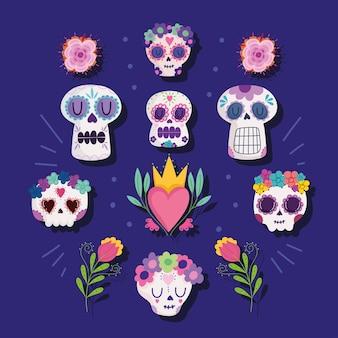 Мексиканский череп традиционный