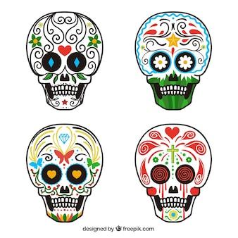 メキシコの頭蓋骨コレクション