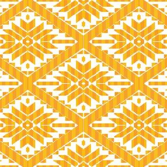 メキシコ風の幾何学模様