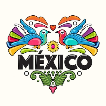 Mexican style illustration