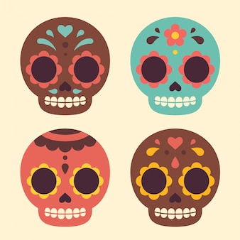 멕시코 설탕 두개골