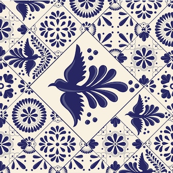 Mexican talavera tiles
