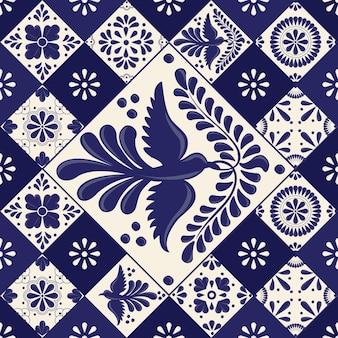 メキシコのタラベラタイル