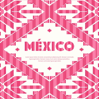 Mexican traditional pattern