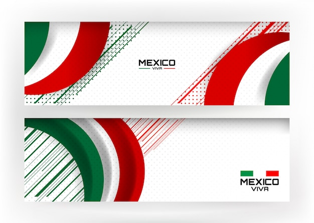メキシコの休日の背景