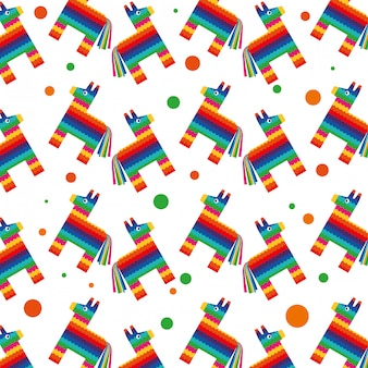 Mexico background pattern