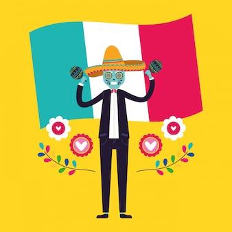 Mexico cartoons card